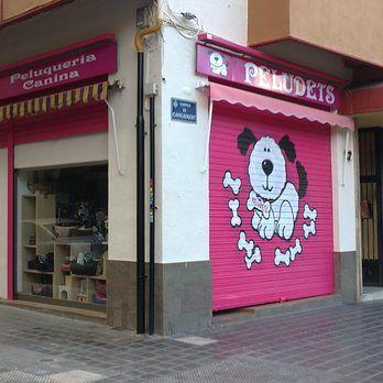 Top 55 ideas about peluqueria on pinterest two dogs pets and puppys - Decoracion para peluqueria ...