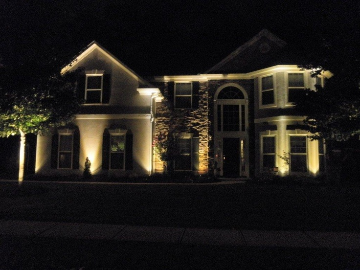 Love the lights   I want our house to look like this one day   Newnan GA LED  lighting project66 best Exterior LED Lighting images on Pinterest   Lighting ideas  . Outdoor Led Lights For Homes. Home Design Ideas