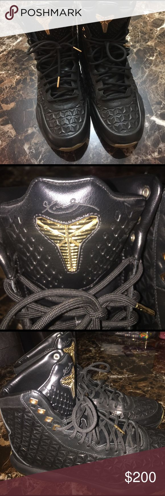 Kobe Bryant high top Worn, but in good condition Nike Shoes Sneakers