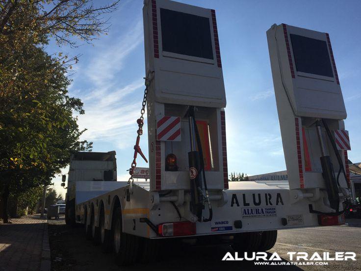 3 Axles Lowbed Trailer - Alura Trailer - Turkey