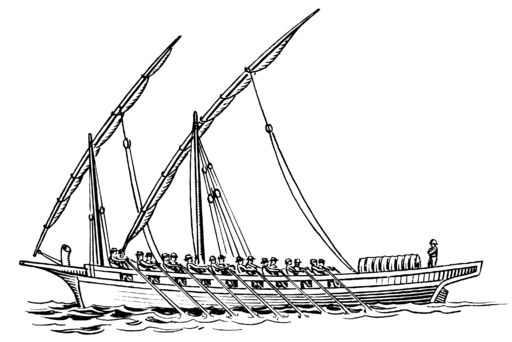 nile boats coloring pages - photo#2