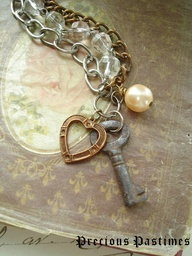 Keys and hearts always together...