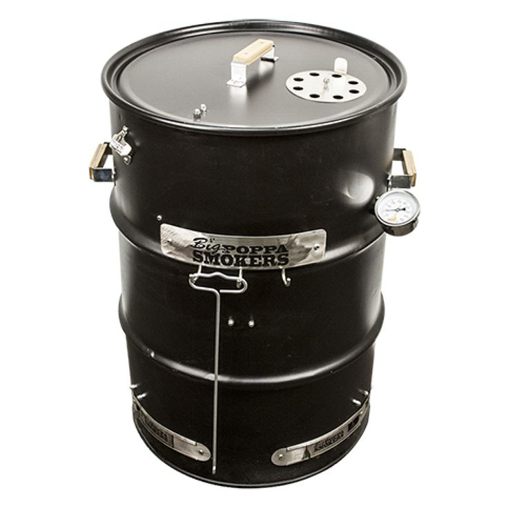 big poppa 39 s diy drum smoker kit barrel pinterest drum smoker. Black Bedroom Furniture Sets. Home Design Ideas