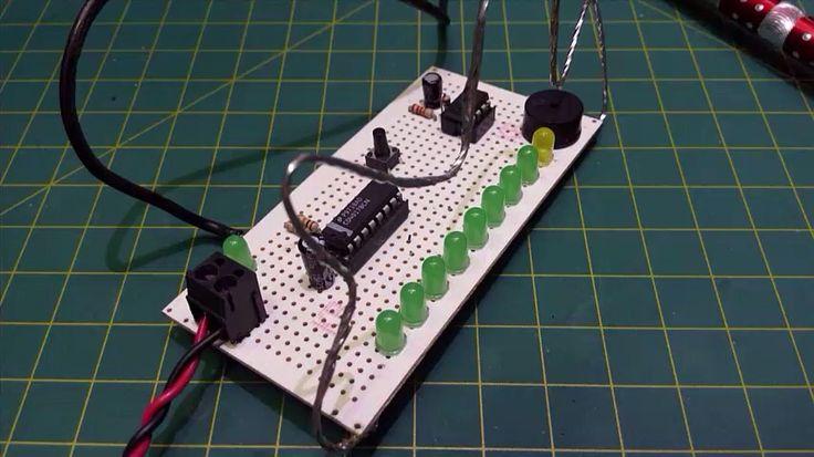Jogo Labirinto de Fev/83 - Montagem de um jogo que foi o inicio do meu  contato com a eletrônica em 1983.  Simulação desse jogo com o Arduino e a placa MBZ. Seção Nostalgia !!! #cd4017 #NE555 #eletronica #Labirinto #Arduino #MBZ #Maxblitz