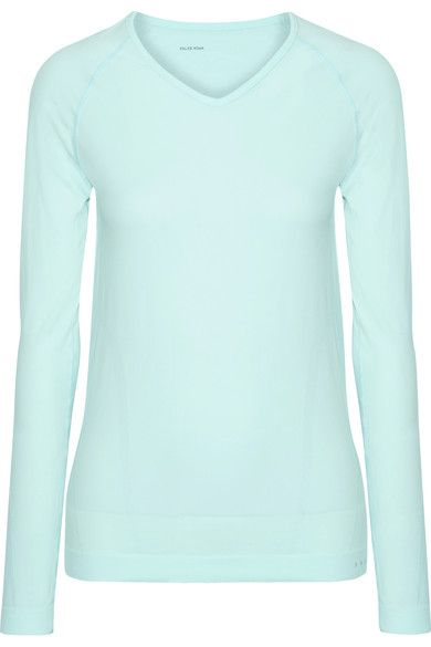 FALKE Ergonomic Sport System - Stretch-jersey Top - Mint - medium