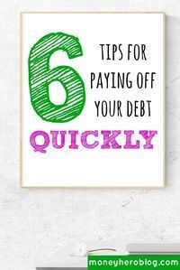 Want to know how to pay off debts quickly and save more money each month? I will show you the methods that I use to manage my debt and keep it under control. Click now to start saving money on interest!