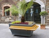 http://www.hartecast.co.uk/category/planters/ - Image of the new Rectangular Planter with perch seating offered by Hartecast, a leading supplier of high-quality street furniture. For more on our wide range of planters and other furniture please visit our website.