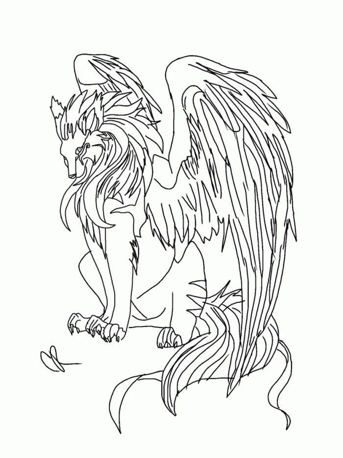 Flying Wolf Coloring Pages Animal Coloring Pages Puppy Coloring Pages Horse Coloring Pages