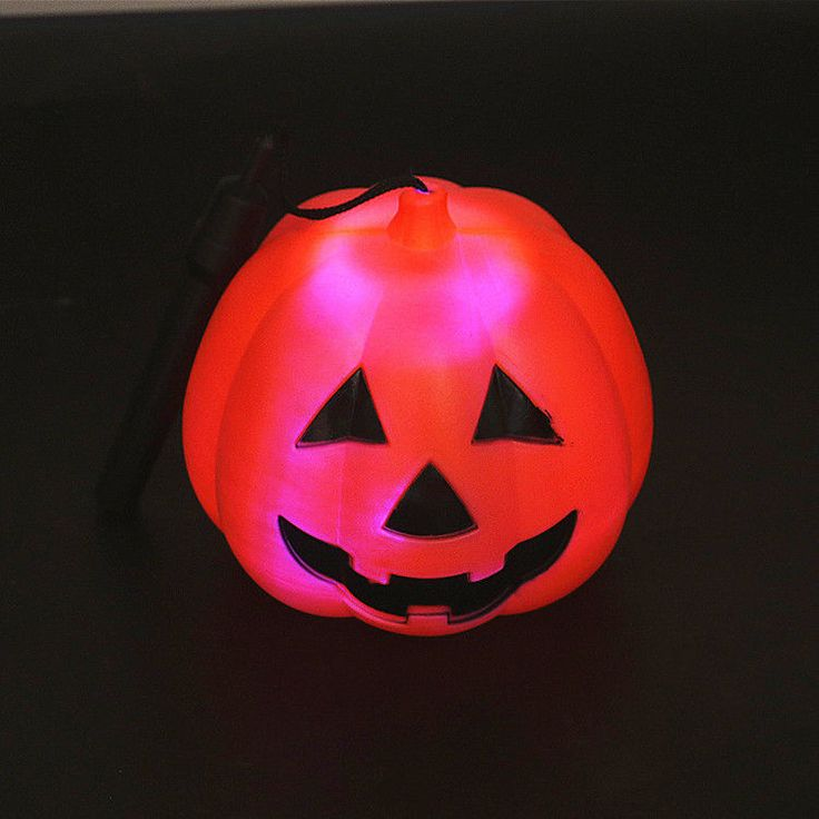 2017 Hot Halloween Pumpkin Orange Led Light Festival Home Prop Decoration