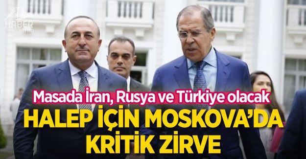 Halep için Moskova'da kritik zirve! Türkiye'de masada...