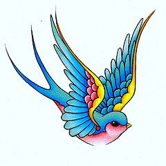 tattoo classic de golondrina - Buscar con Google