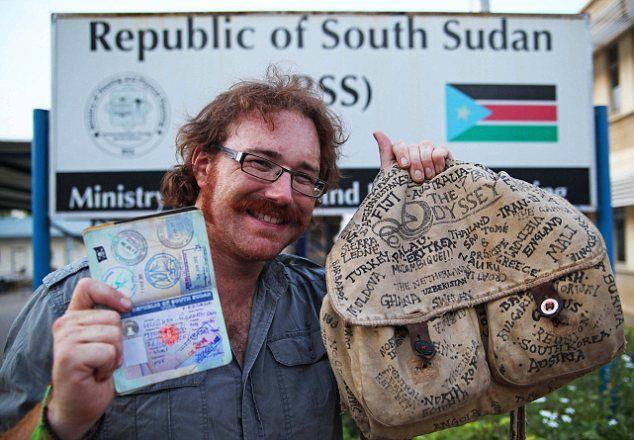 El hombre que visitó todos los países del mundo sin subirse a un solo avión