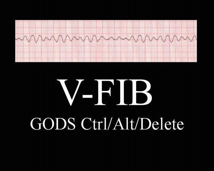 I'm an EMT geek bahaha: Nur Life, Nursey Nur, Emt Geek, V Fib, Funny Stuff, Vfib, Medical Humor, Nur Humor, Nur Stuff