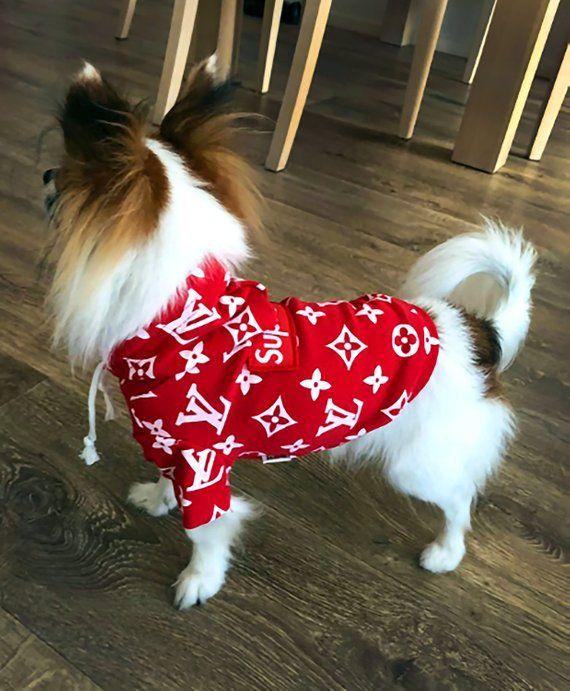40a5589c11e7 Supreme x Louis Vuitton Pet Hoodie®