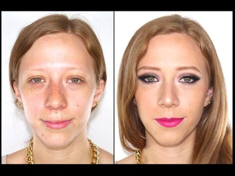 Maquillaje para Pieles Blancas Pecosas - Makeup For Fair Skin with Freckles