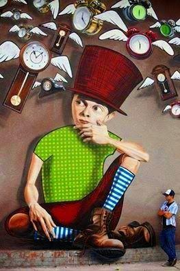 """Lonac da IL RAMO D'ORO """"Street Art"""" https://ilramodoro-katyasanna.blogspot.it/2013/11/street-art.html"""