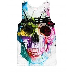 Scull Tank Top