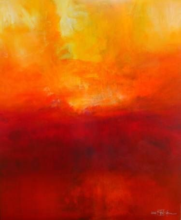 "Saatchi Art Artist Christian Bahr; Painting, ""THE BIRTH OF LIGHT AND TRUTH"" #art"