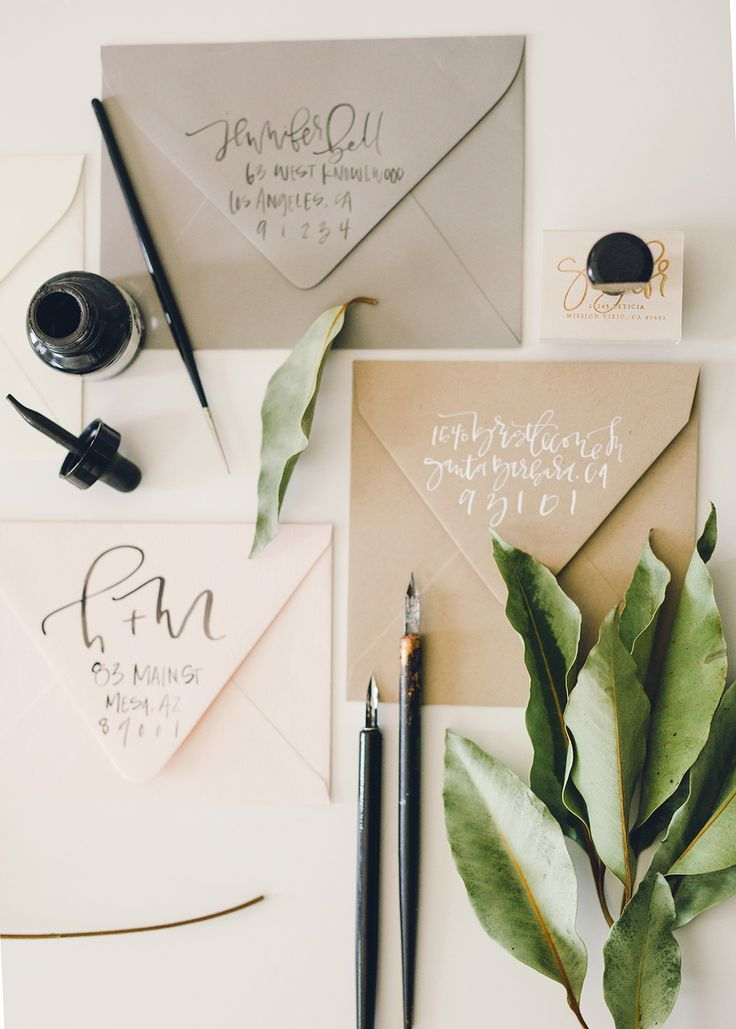How to Properly Address Your Wedding Invites 001 | The Return — A Fabulous Fete
