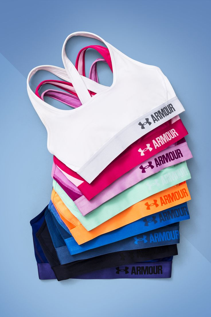 Under Armour Women's Armour® Mid - Crossback Bra. Built for Mid-Impact support so you can stay fit & focused. This bra will help you finish as strong as you started.