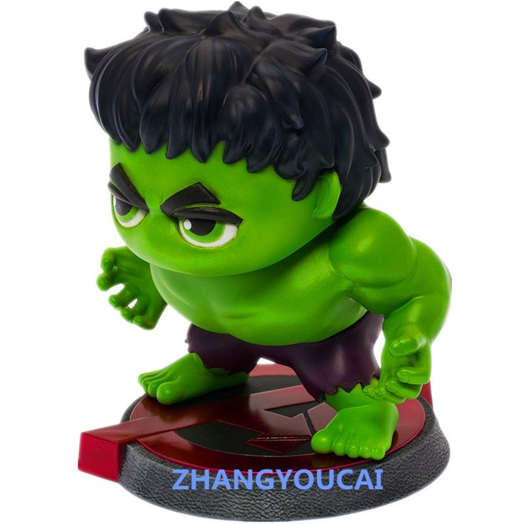 Marvel Avengers Hulk Bobble head PVC Action Figure Collectible Model Toy 15cm zy041 //Price: $US $22.74 & FREE Shipping //     #rchelicopters