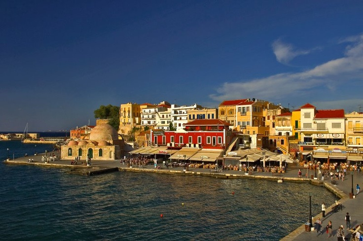 harbor of Chania