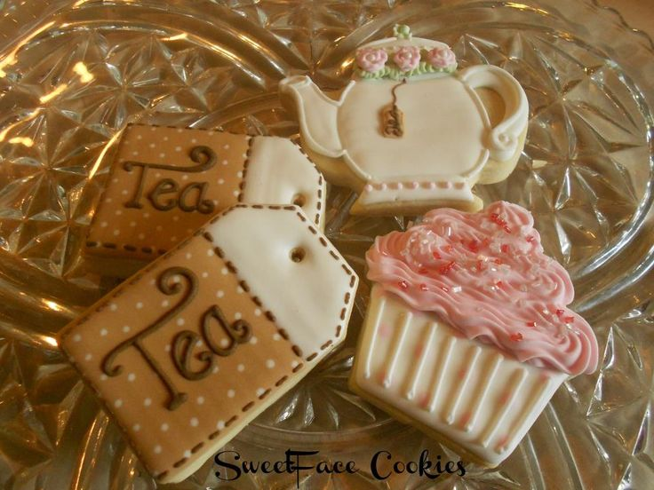Tea party #cookies