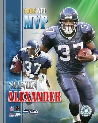 Shaun Alexander 2005 MVP Seahawks