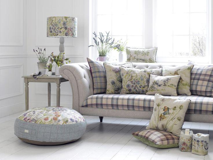#новинки: удобная и уютная #мебель в клетку @voyage_deco #fabric #decoration #homedecor #tartan #chalet #country