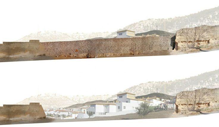 Antonio Jimenez Torrecillas - Ricostruzione della Muraglia