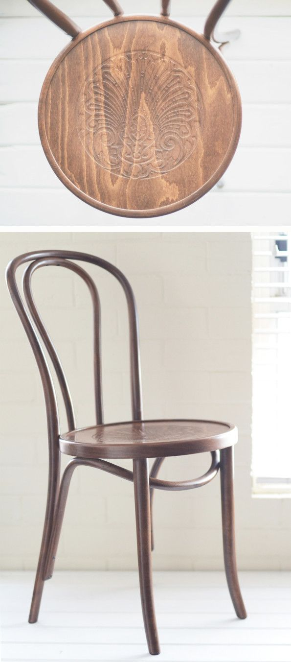 bentwood chair Lilly and Bramwell $10