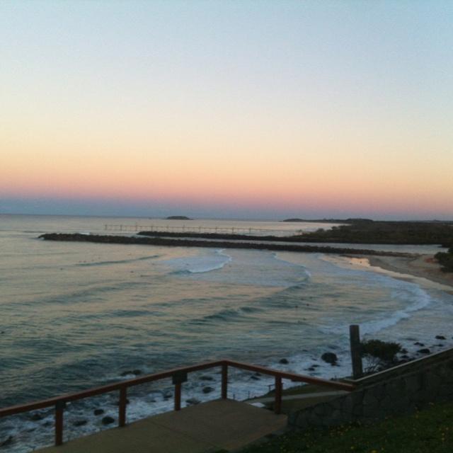 Sunset at Point Danger