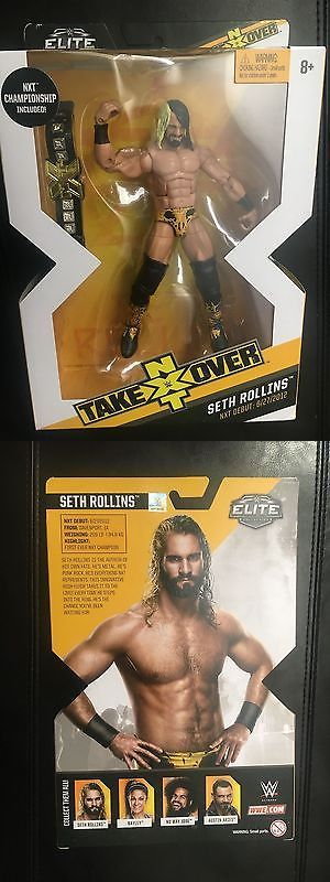 Sports 754: Wwe Mattel Elite Seth Rollins Nxt Nib Low Price Ships Fast -> BUY IT NOW ONLY: $30 on eBay!