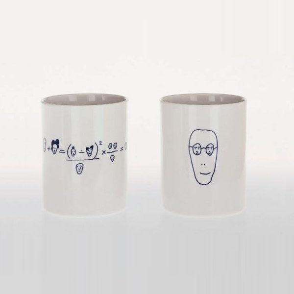 Alessi Genetic Tales set of 2 mugs (3 set collection) - last ones - out of collection
