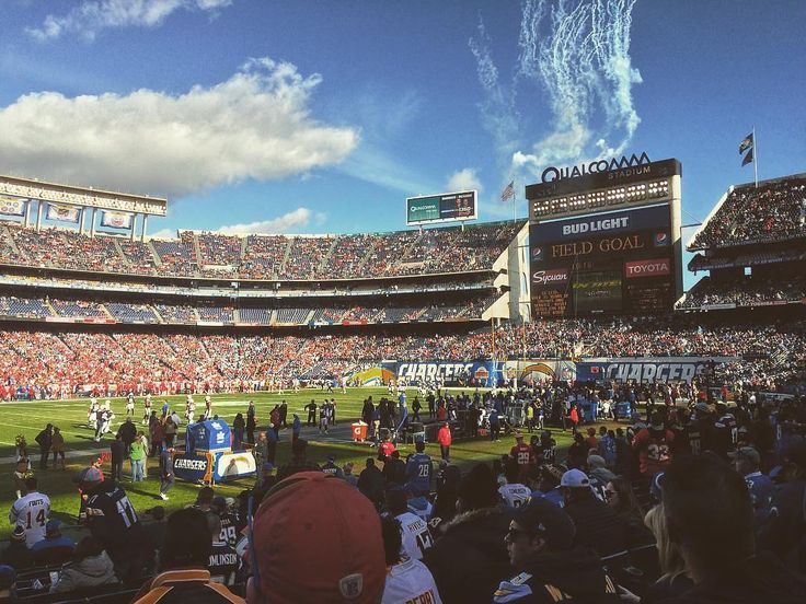 We're not sure why but we feel like the #Chargers might come home. We'll see!  #Qualcomm Stadium Thanks @atracht1!  #SuperTailgate #tailgate #tailgating #win #letsgo #gameday #travel #adventure #stadium #party #sport #ESPN #jersey #sports #league #SportsNews #score #love #Football #NFL