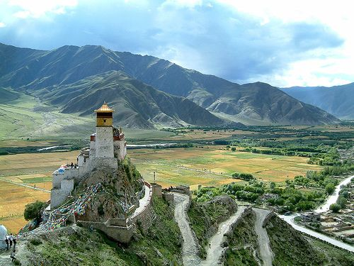 The Yumbulagang Monastery is one of the first buildings to be constructed in Tibet and is the first palace to be built in the country.  Although this 2,000 year old building was destroyed during the Cultural Revolution, it was successfully rebuilt in the 1980s.  Today, the history of Tibet can be seen on the painted murals found on the walls