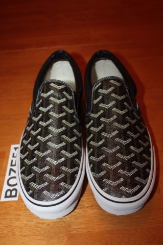 GOYARD-VANS-CUSTOM-SLIP-ON-Supreme-Wtaps-Vault-Syndicate-Black-9