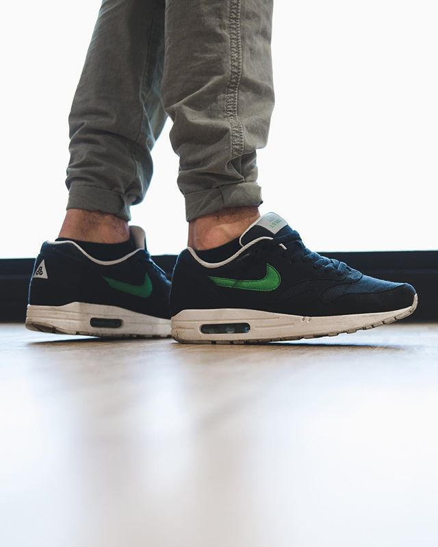 7d2d6c8dc8 ... Nike Air Max 1 Air Max Nike Air Max 1 Nike Acg Pack White-black Victory  Green ...