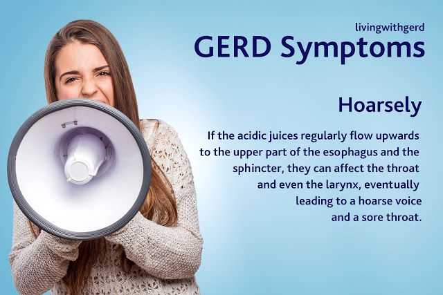 Living with Gerd: GERD Hoarsely