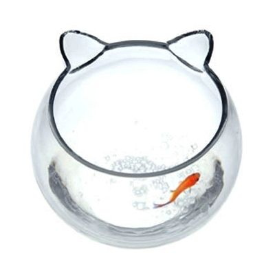 10 images about fish bowl ideas on pinterest fish for Fish shaped bowl