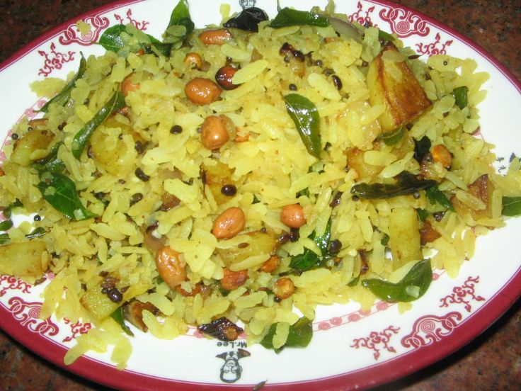 Pohay or Pohe is an Indian fast food prepared in