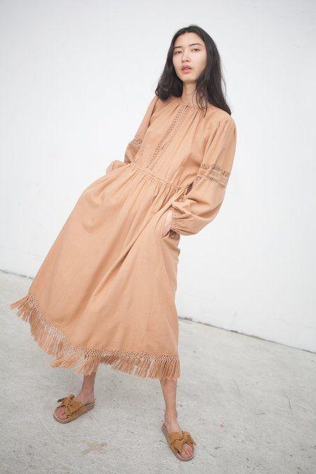 Ulla Johnson Kalea Dress in Clay