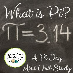 It's World Pi Day!  Did you know? Or, do you even know what that means? Pi is the mathematical constant of a circle. With Free mini Pi Day Unit Study