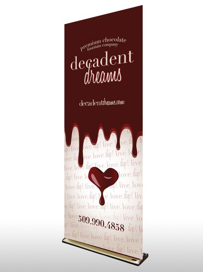 Decadent Dreams Tradeshow Banner