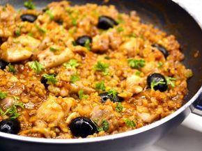 Csirkés bulgur egytálétel recept