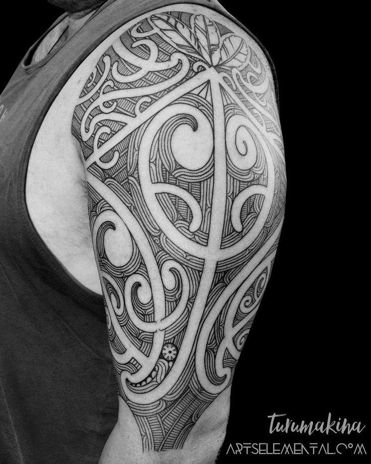 Representing the protector thank you Ben for the session. --- Artist: Turumakina Bookings: PM or artselemental.com  #tamoko #taamoko #maoritattoo #maori