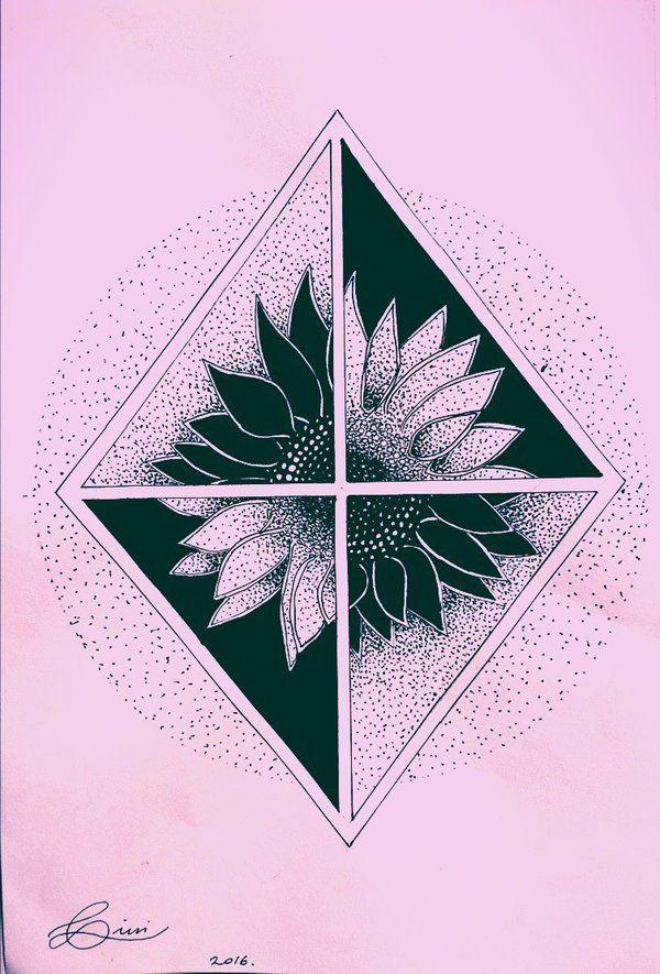 Sunflower #sunflower #tattoo #tattooart #tattooartwork #tattosketch #sketch #ink #inkart #dotwork