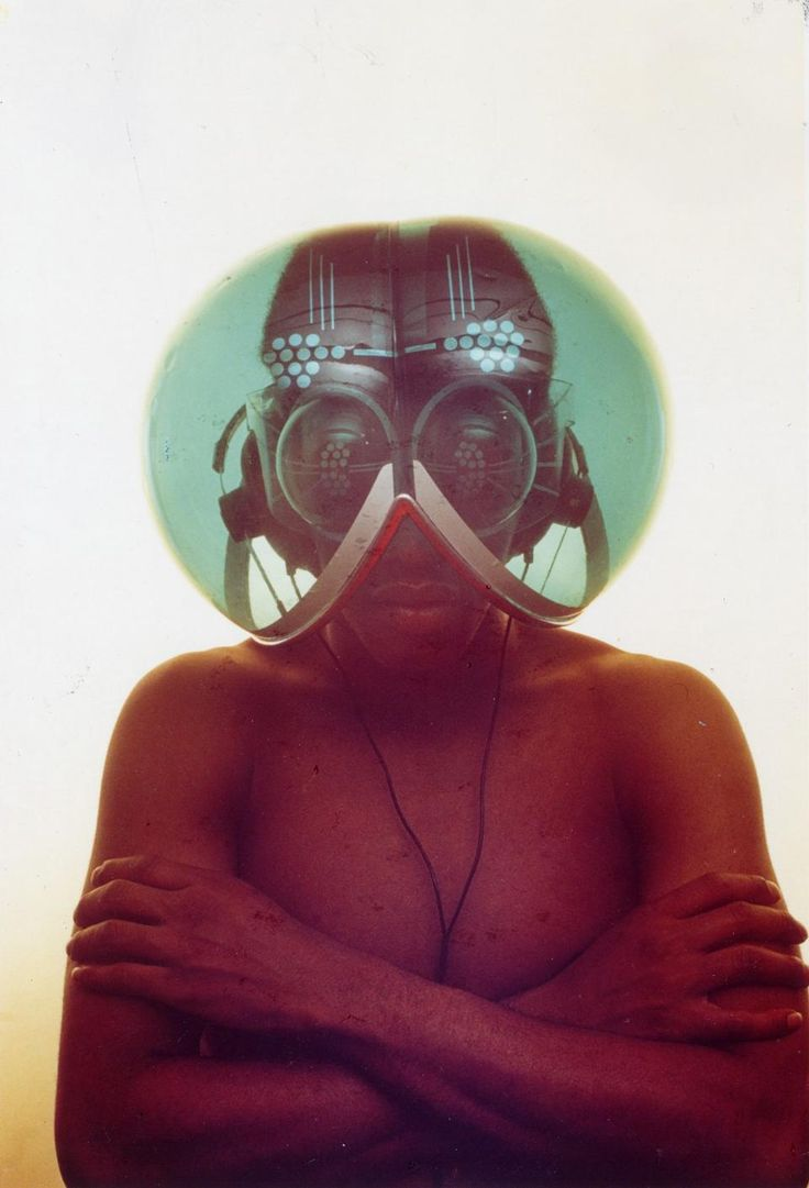 Haus-Rucker-Co, Environment Transformer/Flyhead Helmet, 1968.