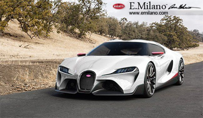 Evren Milano has rendered a Bugatti Veyron II based on the recently revealed Toyota FT-1 Concept, interesting aint it? See it here!