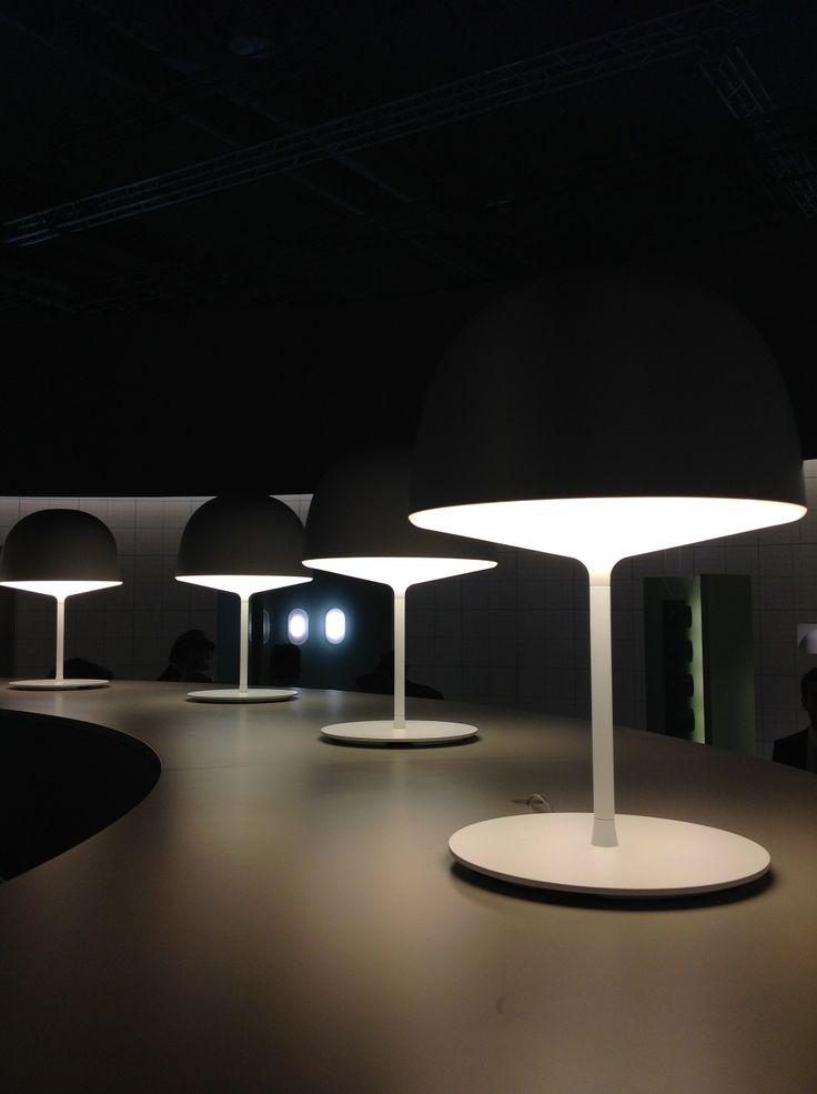 Cheshire table lamp by GamFratesi
